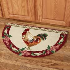 Round Rooster Kitchen Rugs Kitchen Rugs Rooster Kitchen Room