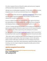 best operations management ideas lean project operations management homework help