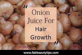 12 diy onion juice for hair growth