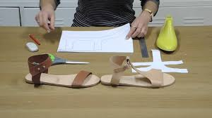 Design Your Own Sandals Uk How To Make Easy Patterns For Sandals I Can Make Shoes
