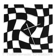 clock design twister