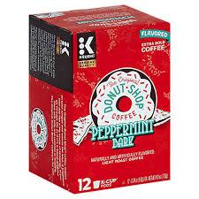 Of the original donut shop regular coffee each. The Original Donut Shop Coffee K Cup Pods Extra Bold Light Roast Peppermint Bark 12 0 34 Oz Tom Thumb