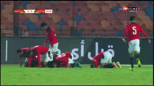 ملخص وأهداف مباراة منتخب مصر الأولمبي vs منتخب البرازيل الأولمبي ضمن  مبارايات البطولة الدولية الودية - YouTube