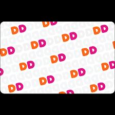 dunkin donuts card