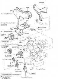 diy timing belt replacement toyota mzfe engine camry v6 avalon 1mzfe timing belt component diagram