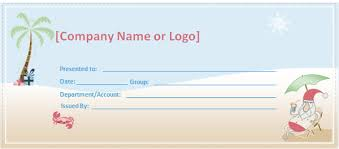 Word Templates For Gift Certificates Gift Certificate Template Word Excel Xlts