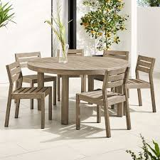 portside outdoor 60 round dining table