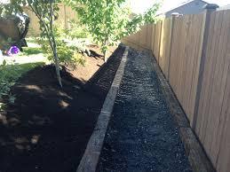 Gb Fencing Designer Landscaping Landscape Slope Railroad Ties Gravel Path 2 Gb Lawncare