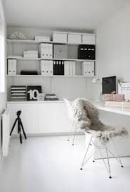 home officeminimalist white small home office. 37 Stylish, Super Minimalist Home Office Designs - DigsDigs Officeminimalist White Small