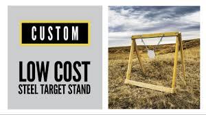 low cost diy steel target stand cabela s shooting park