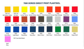 Wilflex Ink Chart Bears Navy 7608 International Coatings
