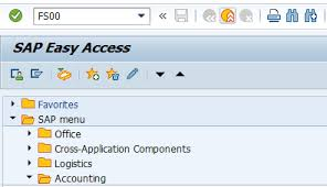 T Code To Display Chart Of Accounts In Sap Sap Fi Gl Account In Sap Create Display Block Delete