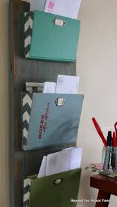 organizing office desk. Old Book-Based Mail Organizer. Part Of Organizing Your Desk Or Office N
