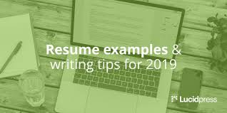 Things To Write In Resumes Resume Examples Writing Tips For 2019 Lucidpress