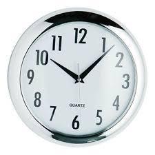Small Picture Round Contemporary Kitchen Wall Clocks eBay