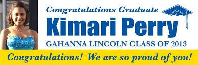 Graduation Banners Gahanna Signs Banners Columbus Ohio Auto