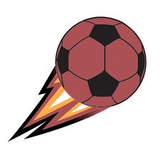 Soccer Logo Maker Kicked Soccer Ball Logo Graphicsprings Logo Maker