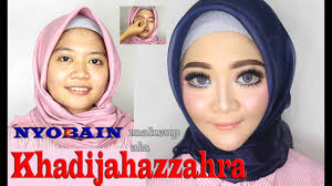 khadijahazzahra makeup tutorial by tris