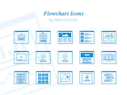 Flowchart Icon Set Sketch Freebie Download Free Resource
