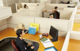 office cubicles walls. Cubicle Walls Separate Employees From Each Other. Office Cubicles
