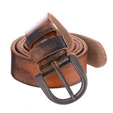 Buvelife Men's Vintage Leather Belt 100% Genuine Leather BeltMEDIUM 32-34