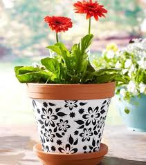 Designs For Flower Pot Painting 25 Simple Easy Flower Pot Painting Ideas Decorated Flower