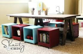 childrens activity table kids activity table with storage stupefy children s play tables furniture home ideas