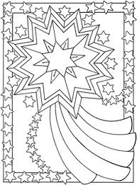 Small Picture Adult coloring page moon sun stars Falling star 3
