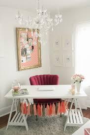 romantic decor home office. Amanda Cowley Sweet Events Niagara Wedding Planner Designer Stylist Pretty Home Office Pink Vintage Girly Romantic Decor