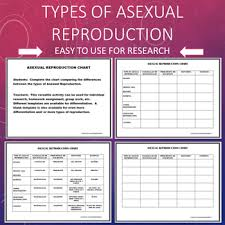 Asexual Reproduction Types Chart Fission Budding Cloning And More