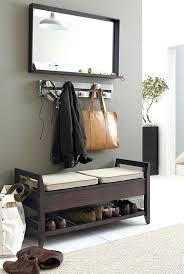 Shoe Coat Rack Bench entryway coat rack and storage bench floorganics 47