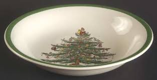 Dining Room Spode Dishes Christmas  Spode Christmas Tree Plates Spode Christmas Tree Cereal Bowls