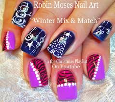 Frosty Nail Art Designs For Winter   #chippernails - Youtube ...