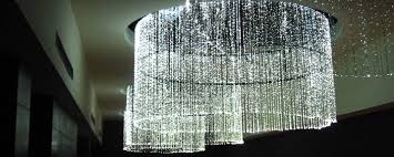 the chandelier being used in a high end hotel taipei