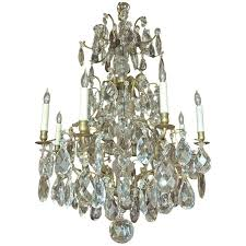 rococo style swedish crystal chandelier with 16 lights circa 1910 intended for amazing household lighting crystal chandeliers remodel
