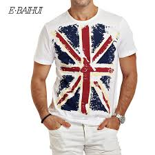 <b>E BAIHUI</b> men Clothing summer Male Slim <b>t shirts</b> Fit <b>t shirt</b> Man ...