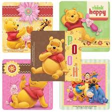 Winnie The Pooh Reward Chart Winnie The Pooh Stickers Winnie Pooh Party Envelope Seals Party Favors Reward Charts Parents Merit Awards Teachers Birthday Party