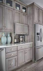 Grey Farmhouse Kitchen Cabinet Colors Wowhomy