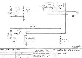gibson eb circuit schematics series  eb3 wiring schematic series 1