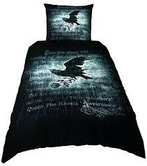 ravens bed sets alchemy nevermore single duvet set by baltimore ravens crib bedding set