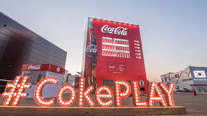 Coca Cola Vending Machine Commercial Magnificent Giant CocaCola Landmarks A Hit Be Koreasavvy