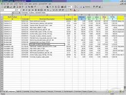 Electrical Estimating Spreadsheet How To Create An Excel Spreadsheet