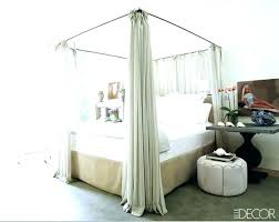 Queen Bed Canopy Cover Four Poster Bed Canopy Queen Size Bed Canopy ...