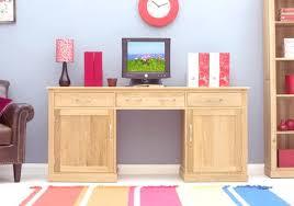 picture mobel oak large hidden office. Mobel Oak Large Hidden Office Twin Pedestal Desk Picture C