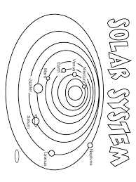 Solar System Coloring Book Free Pages Printable Pictures Home