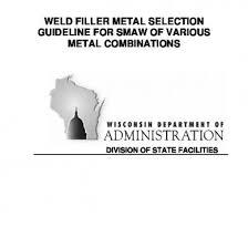 Arc Welding Filler Metal Selection Chart 8jlkg905e0n5