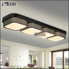 rectangle modern ceiling lights bedroom black shade flush mounted with regard to led kitchen ceiling light fixtures pertaining to property