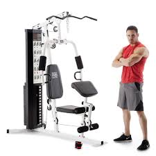 marcy 150 lb multifunctional home gym station