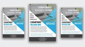 Best Brochure Design 2018 Adobe Illustrator 2018 Blue Corporate Flyer Design Leaflet Poster Brochure Design Illustrator