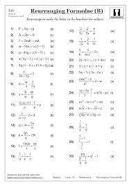 Basic Math Formulas Chart Math Formula For Class 8 Kookenzo Com